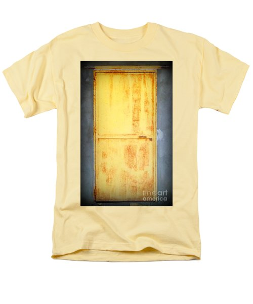 Men's T-Shirt  (Regular Fit) featuring the photograph Unused Door by Clare Bevan