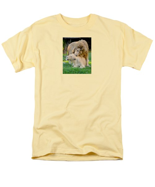 How About A Nibble My Love Men's T-Shirt  (Regular Fit) by Venetia Featherstone-Witty