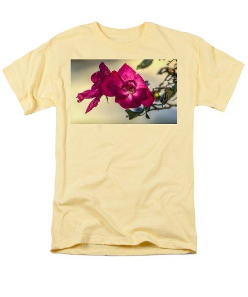 Wild Rose Men's T-Shirt  (Regular Fit) by Jane Luxton