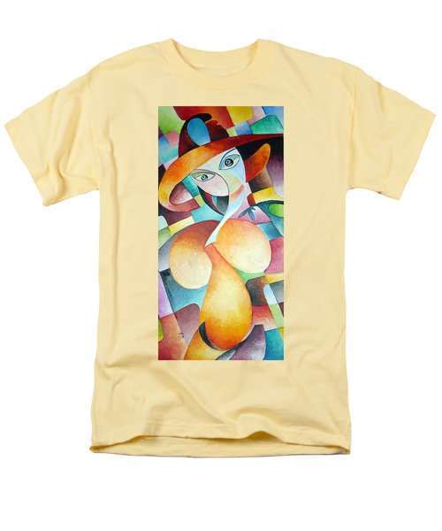 Men's T-Shirt  (Regular Fit) featuring the painting Woman by Dorothy Maier