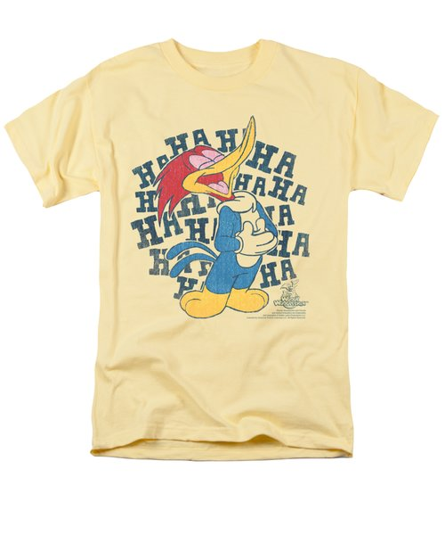 Woody Woodpecker - Laugh It Up Men's T-Shirt  (Regular Fit) by Brand A
