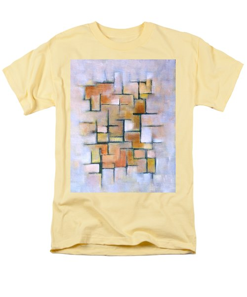 Line Series Men's T-Shirt  (Regular Fit) by Patricia Cleasby