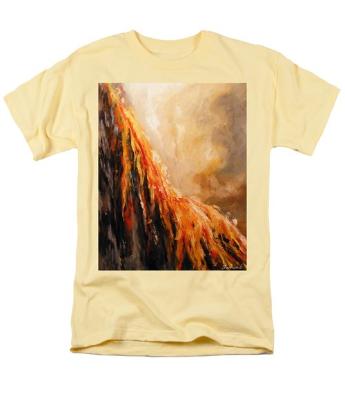 Quite Eruption Men's T-Shirt  (Regular Fit) by Karen  Ferrand Carroll