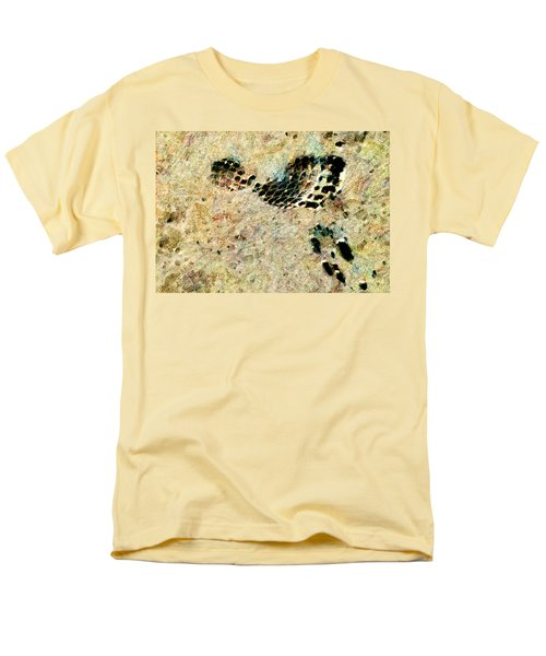 Men's T-Shirt  (Regular Fit) featuring the digital art The Evolution Of Man by Steve Taylor
