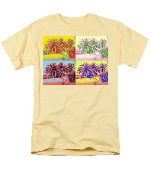 Men's T-Shirt  (Regular Fit) featuring the photograph The Loop In Pop Art by Alice Gipson