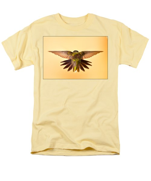 Men's T-Shirt  (Regular Fit) featuring the photograph Usaf Hummingbirds Wings by Randall Branham