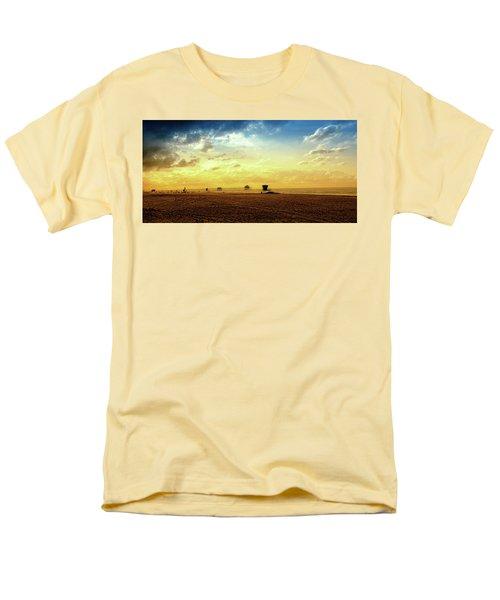 Beach Pier Men's T-Shirt  (Regular Fit) by Joseph Hollingsworth