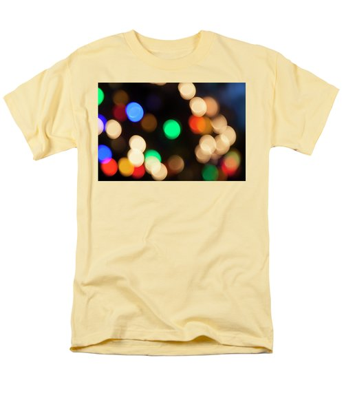 Men's T-Shirt  (Regular Fit) featuring the photograph Christmas Lights by Susan Stone
