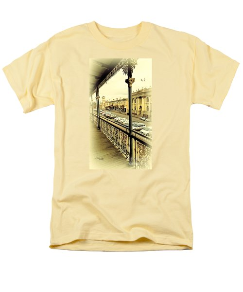 Men's T-Shirt  (Regular Fit) featuring the photograph Downtown Daylesford II by Chris Armytage