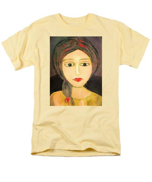 Men's T-Shirt  (Regular Fit) featuring the digital art Emma by Lisa Noneman