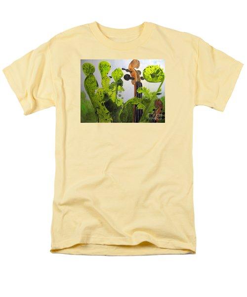 Fiddleheads Men's T-Shirt  (Regular Fit) by Sandy McIntire