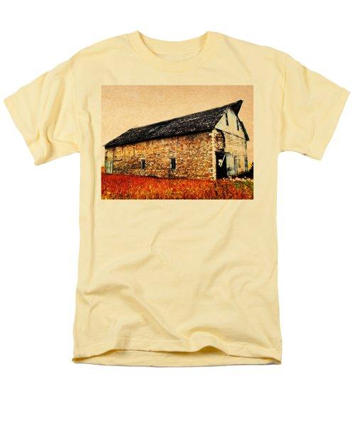Lime Stone Barn Men's T-Shirt  (Regular Fit)