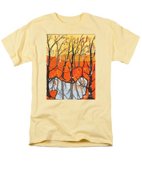 November Morning  Men's T-Shirt  (Regular Fit)