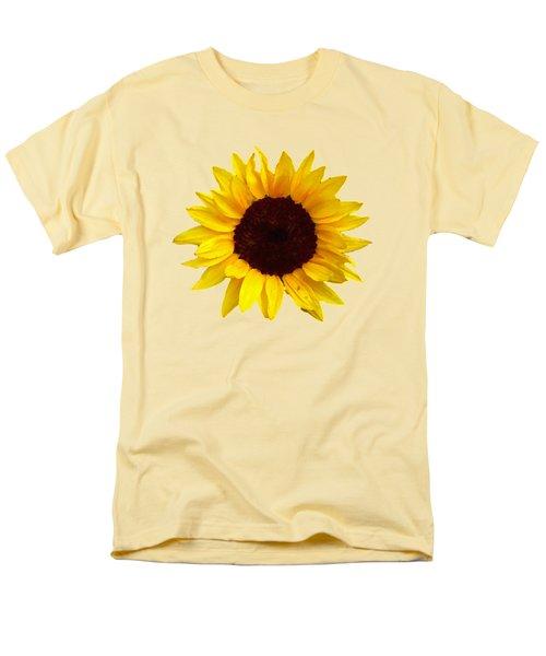 Sunflower Men's T-Shirt  (Regular Fit) by Jim Sauchyn