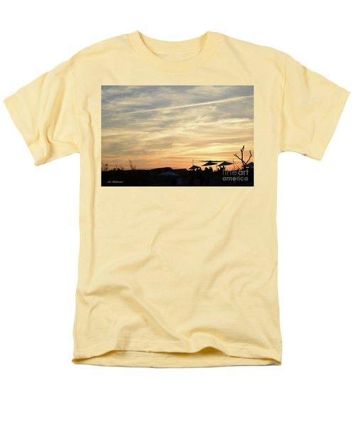 Sunset View Men's T-Shirt  (Regular Fit) by Arik Baltinester