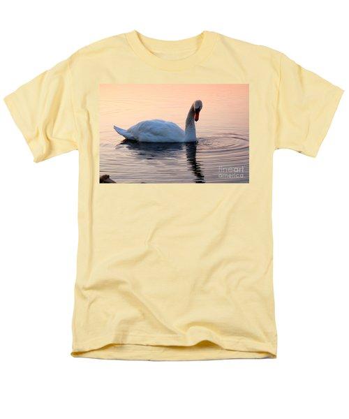Swan Lake  Men's T-Shirt  (Regular Fit) by Joe  Ng