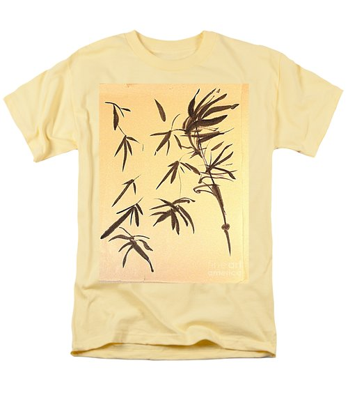 Men's T-Shirt  (Regular Fit) featuring the painting Thinking Of Wind 3 by Nancy Kane Chapman