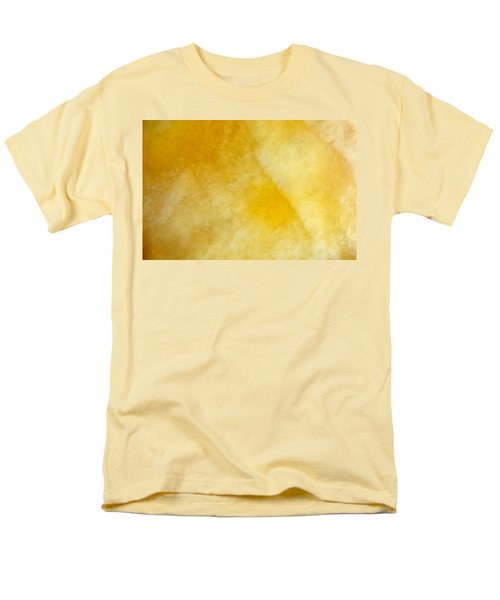 Yellow Men's T-Shirt  (Regular Fit) by Corinne Rhode