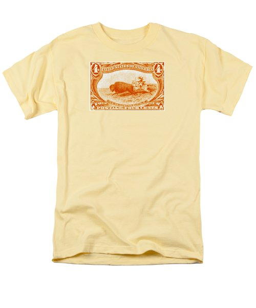 1898 Indian Hunting Buffalo Men's T-Shirt  (Regular Fit) by Historic Image