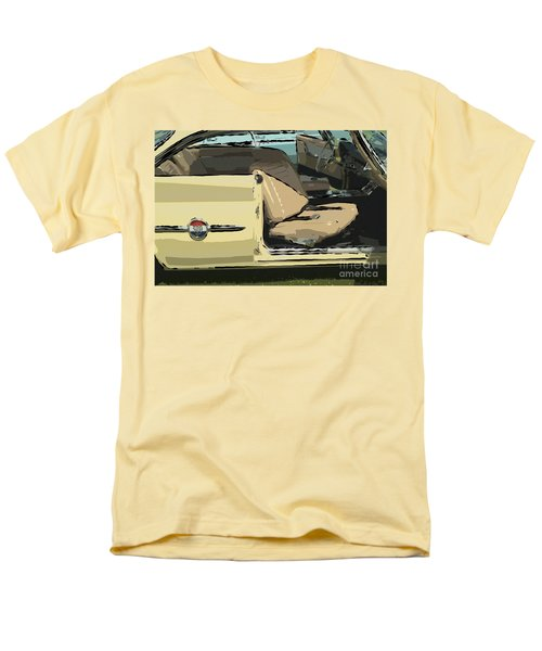Men's T-Shirt  (Regular Fit) featuring the photograph 1960 Chrysler 300-f  Muscle Car by David Zanzinger