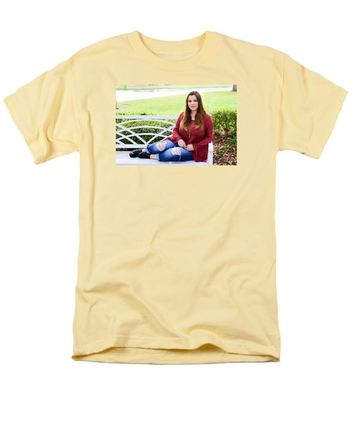 Men's T-Shirt  (Regular Fit) featuring the photograph 5554 by Teresa Blanton