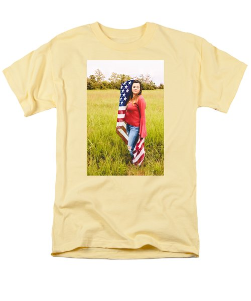 Men's T-Shirt  (Regular Fit) featuring the photograph 5624-2 by Teresa Blanton
