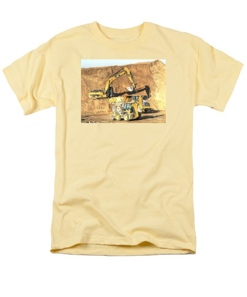 construction whsd Peterburg Men's T-Shirt  (Regular Fit) by Yury Bashkin