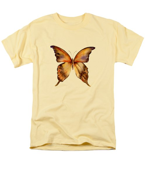 7 Yellow Gorgon Butterfly Men's T-Shirt  (Regular Fit)