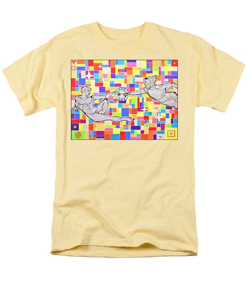 76 Aka The Gift Men's T-Shirt  (Regular Fit) by Jeremy Aiyadurai