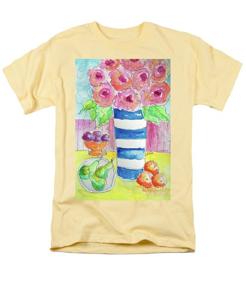 Men's T-Shirt  (Regular Fit) featuring the painting Fruit Salad by Rosemary Aubut