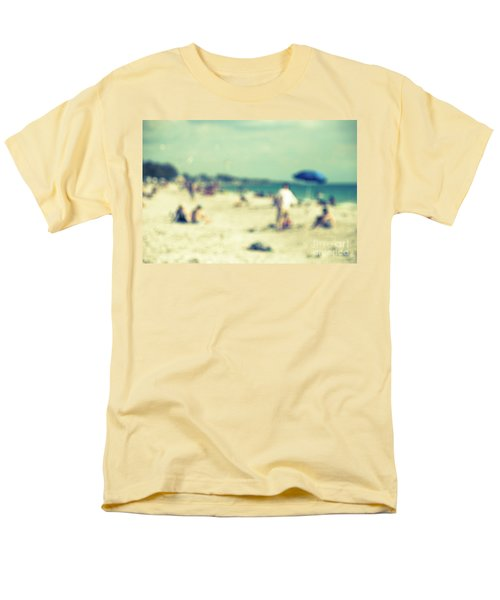Men's T-Shirt  (Regular Fit) featuring the photograph a day at the beach I by Hannes Cmarits