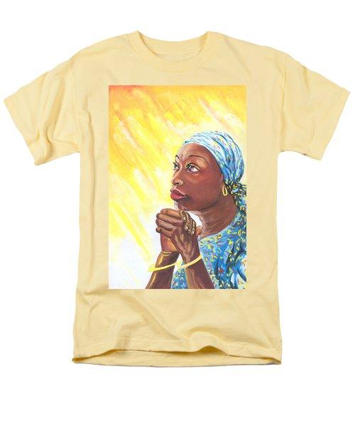 A Mothers Prayer Men's T-Shirt  (Regular Fit) by Emmanuel Baliyanga