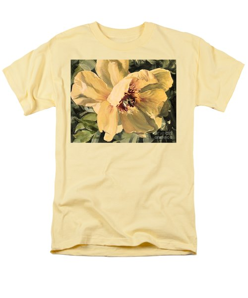 A Peony For Miggie Men's T-Shirt  (Regular Fit) by Laurie Rohner