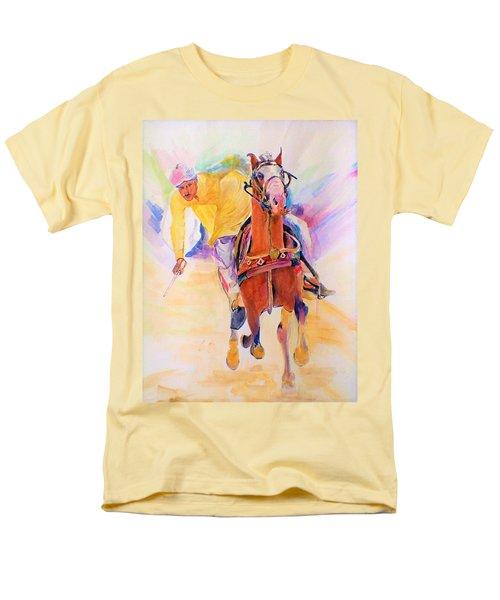 A Win Men's T-Shirt  (Regular Fit) by Khalid Saeed