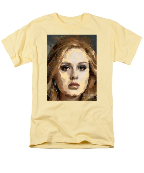 Adele Men's T-Shirt  (Regular Fit) by Dragica Micki Fortuna