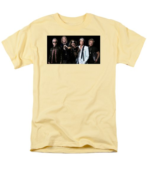 Men's T-Shirt  (Regular Fit) featuring the photograph Aerosmith by Sean
