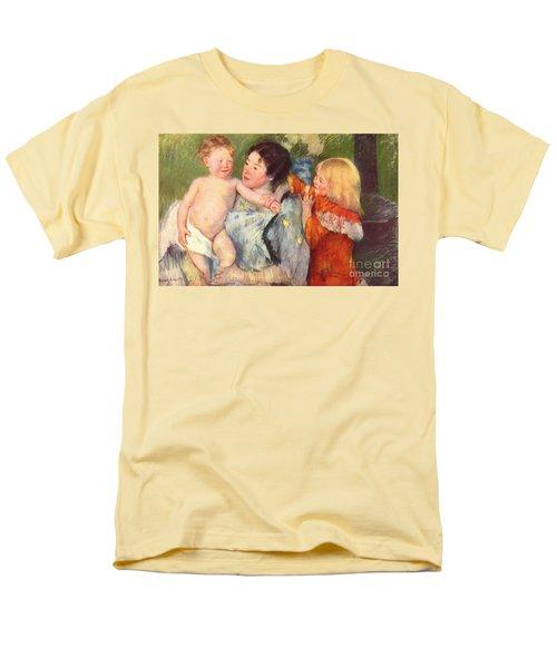 After The Bath Men's T-Shirt  (Regular Fit) by Cassatt