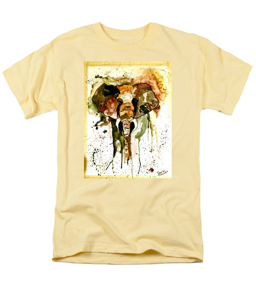Men's T-Shirt  (Regular Fit) featuring the painting All Ears by Denise Tomasura