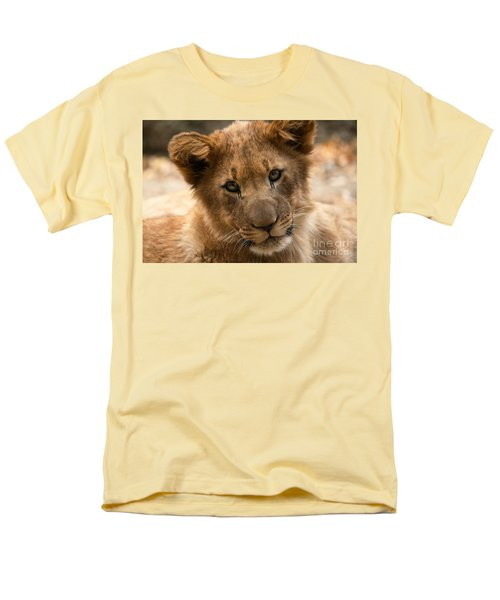 Men's T-Shirt  (Regular Fit) featuring the photograph Am I Cute? by Christine Sponchia
