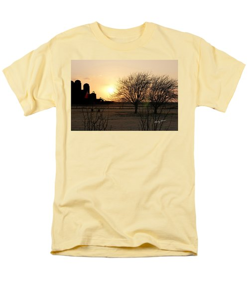 Amarillo Sunset Men's T-Shirt  (Regular Fit) by Ricky Dean