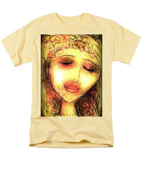 Angela Men's T-Shirt  (Regular Fit) by Elaine Lanoue