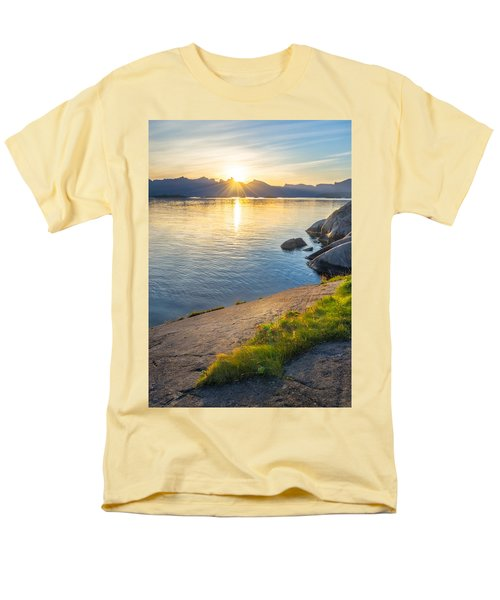 Men's T-Shirt  (Regular Fit) featuring the photograph Arctic Sunrise by Maciej Markiewicz