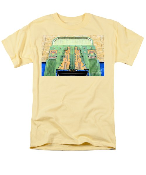 Art Deco Facade At Old Public Market Men's T-Shirt  (Regular Fit) by Janette Boyd