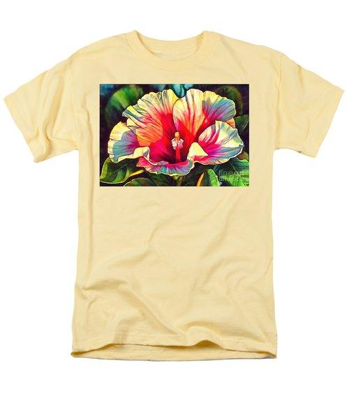 Art Floral Interior Design On Canvas Men's T-Shirt  (Regular Fit) by Catherine Lott