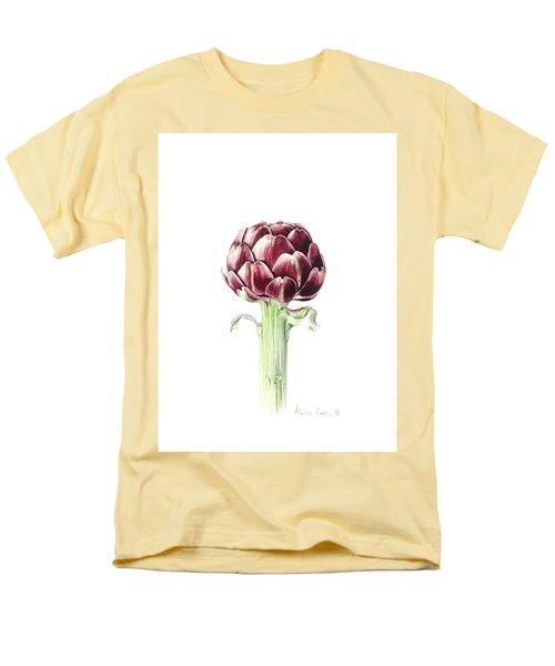 Artichoke From Roman Market Men's T-Shirt  (Regular Fit) by Alison Cooper
