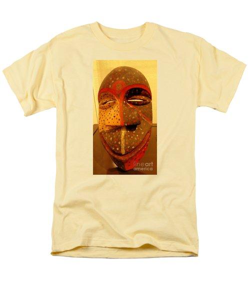 Artifact Mask Of Angola Men's T-Shirt  (Regular Fit) by John Potts