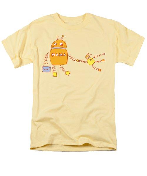 Robomama Men's T-Shirt  (Regular Fit)