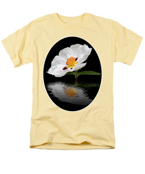 Men's T-Shirt  (Regular Fit) featuring the photograph Cistus Reflections by Gill Billington