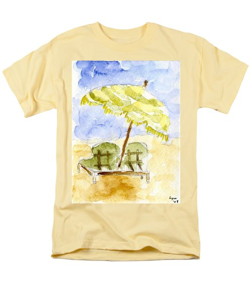 At The Beach Men's T-Shirt  (Regular Fit) by Afinelyne