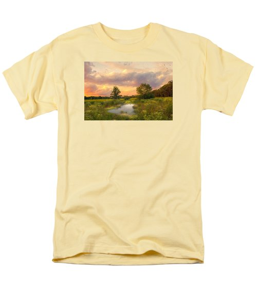 Men's T-Shirt  (Regular Fit) featuring the photograph At The End Of The Day by John Rivera